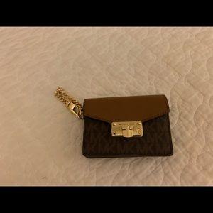 Michael Kors credit card holder